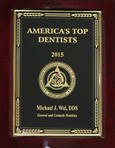2015 Top Dentist Award